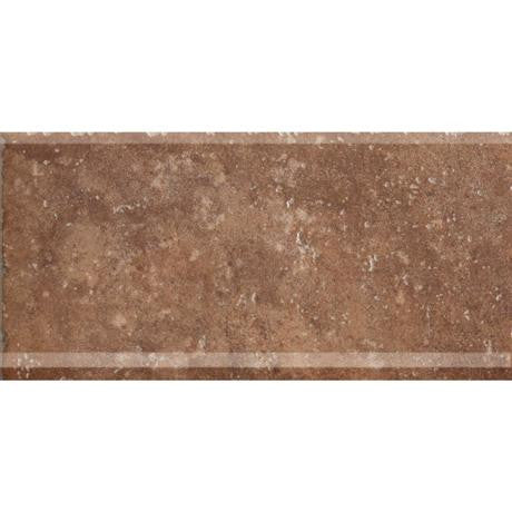 "Marazzi Walnut Canyon 6""x13"" Umber Cove Base"
