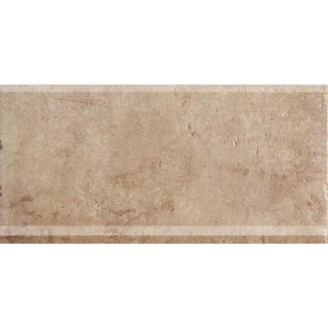 "Marazzi Walnut Canyon 6""x13"" Cream Cove Base - American Fast Floors"