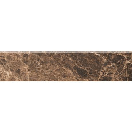 "Marazzi Timeless Collection 3""x13"" Emperador Mocha Bullnose - American Fast Floors"