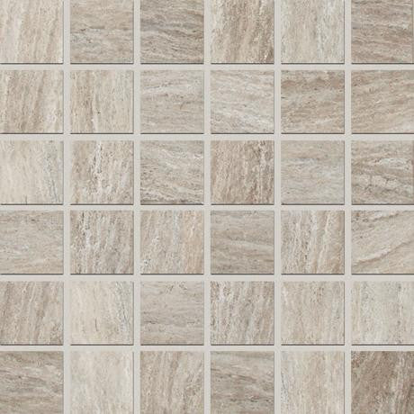 "Marazzi Silk 12""x12"" Sophisticated Square Mosaic"