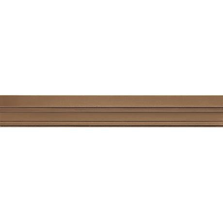 "Marazzi Metal Mania 1-7/8""x13"" Bronze Chair Rail - American Fast Floors"