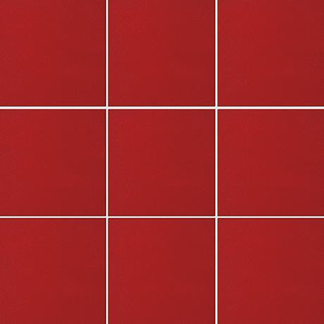 "Marazzi I Colori 12""x12"" Crayons Red Luster Field Tile"