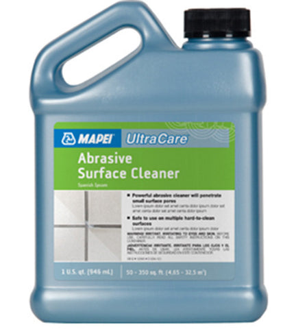 Mapei Ultracare Abrasive Surface Cleaner - 32 Oz Jug - American Fast Floors