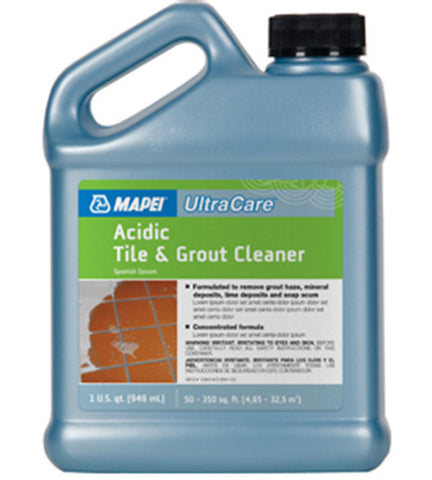 Ultracare Acidic Tile & Grout Cleaner - 1 Ga Jug