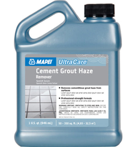 Ultracare Cement Grout Haze Remover - 32 Oz Jug