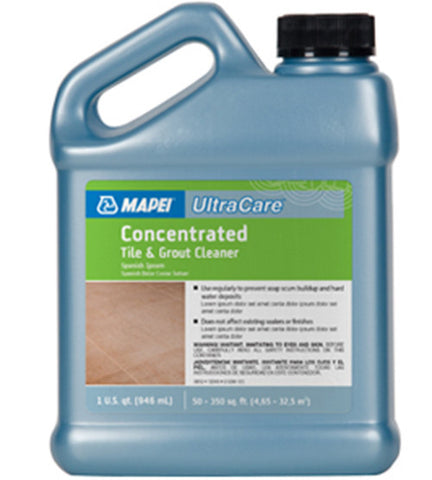 Mapei Ultracare Concentrated Tile & Grout Cleaner - 32 Oz Jug - American Fast Floors