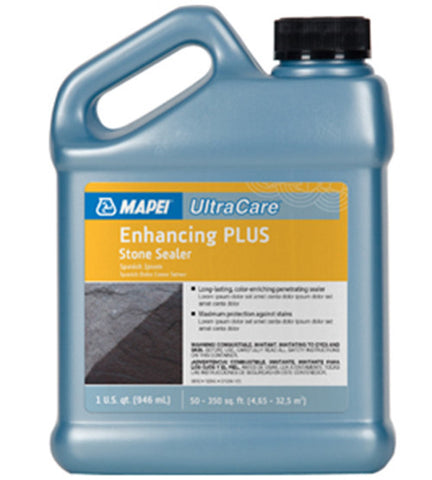 Mapei Ultracare Enhancing Plus Stone Sealer - 32 Oz Jug - American Fast Floors