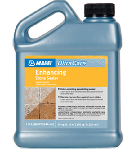 Mapei Ultracare Enhancing Stone Sealer - 32 Oz Jug - American Fast Floors