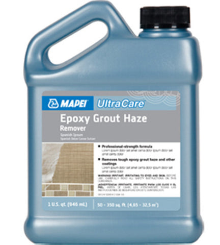 Mapei Ultracare Epoxy Grout Haze Remover - 32 Oz Jug - American Fast Floors