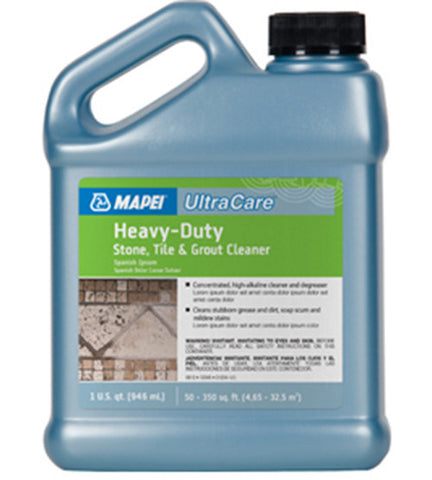Mapei Ultracare Heavy-Duty Stone, Tile & Grout Cleaner - 32 Oz Jug - American Fast Floors