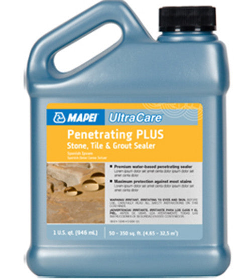 Mapei Ultracare Penetrating Plus Stone, Tile & Grout Sealer - 16 Oz Jug - American Fast Floors