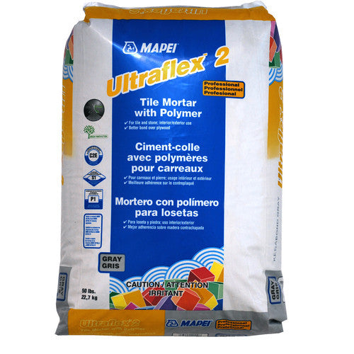 Mapei Ultraflex 2 - 50 lb Bag White - American Fast Floors