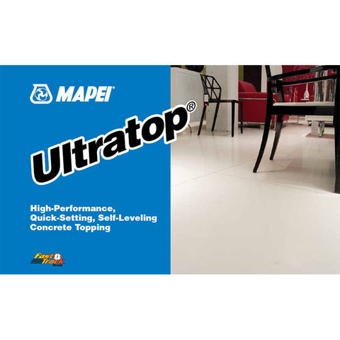 Mapei Ultratop - 50 Lb Bag White - American Fast Floors