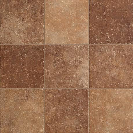 "Marazzi Walnut Canyon 13""x13"" Umber Mesh Mounted Brick Mosaic - American Fast Floors"