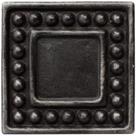 "Marazzi Romance Collection 1""x1"" Wrought Iron Dot Insert"