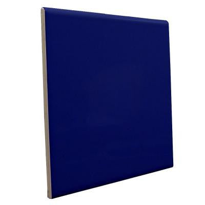 "Color Collection Bright 3""X10"" Cobalt Surface Bullnose - American Fast Floors"