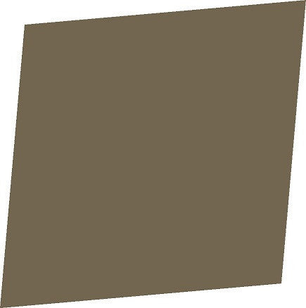 "Color Collection Bright 4""X6"" Cocoa Right Cove Angle - American Fast Floors"