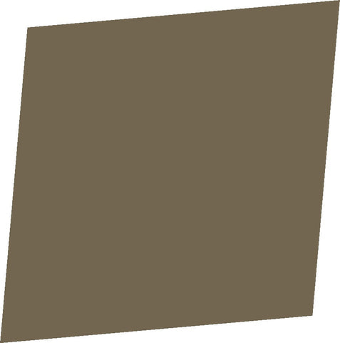 "Color Collection Matte 4-1/4""X4-1/4"" Cocoa Surface Bullnose"