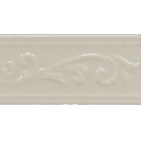 Decorative Accents  Bone Ivy Listel 3X6