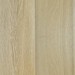 "Bentley Castle Blanc White Oak Brushed"" Engineered Hardwood - American Fast Floors"