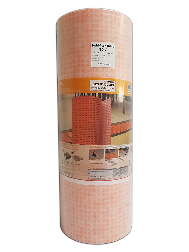 DITRA Uncoupling Membrane 323 SF Roll