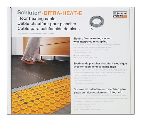 Schluter Ditra Heat Cable 120v 52.9 Ft