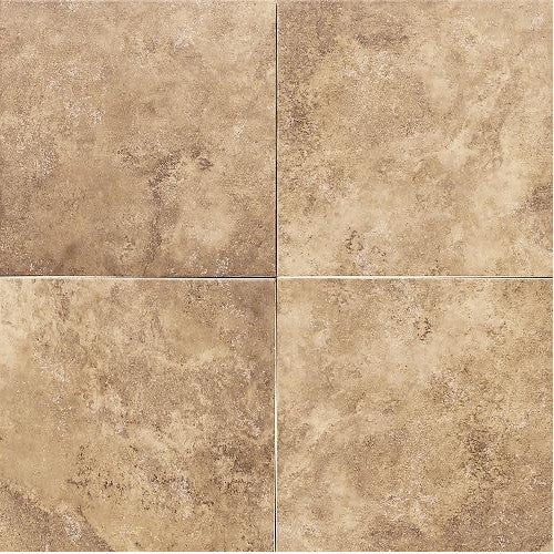 Salerno 6X6 Wall Tile Marrone Chiaro - American Fast Floors