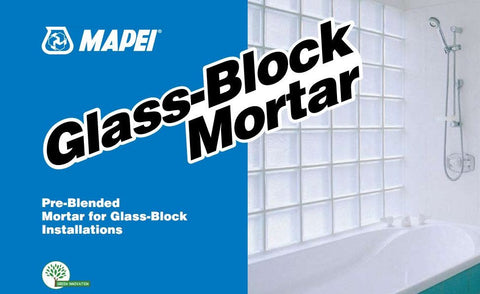 Glass-Block Mortar - 50 lb Bag