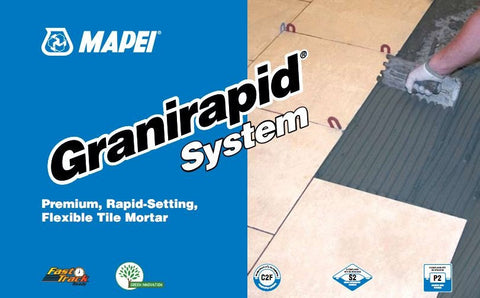 Mapei Granirapid System - 50 lb Bag - American Fast Floors
