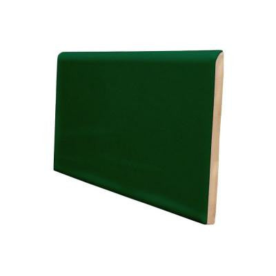 "Color Collection Bright 2""X6"" Kelly Green Radius Cap"