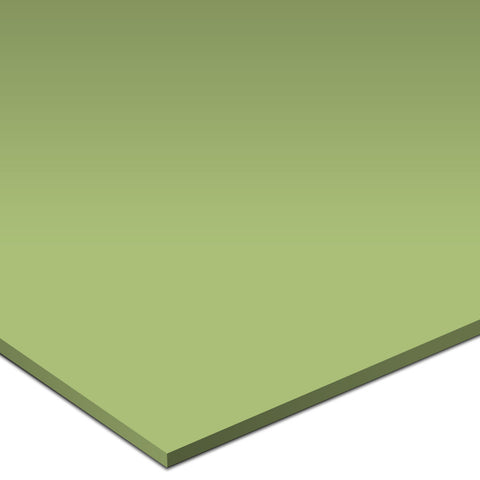 "Color Collection Bright 6""X6"" Spring Green Left Cove Angle - American Fast Floors"