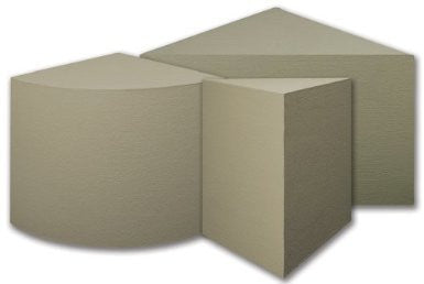 Laticrete  Hydro Ban Preformed Seat  (23x23in Triangle) - American Fast Floors
