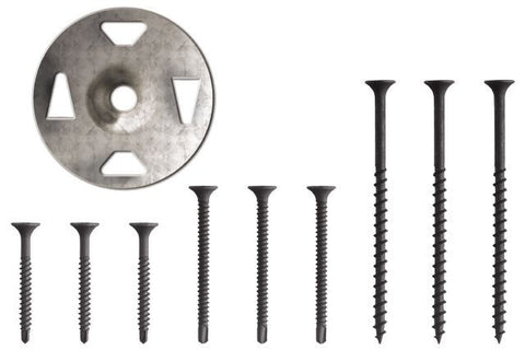 "Schluter KERDI-BOARD 1-5/8"" SCREWS (40) + WASHERS (40)"