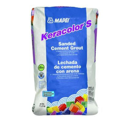 Mapei Keracolor S - 25 lb Bag - American Fast Floors