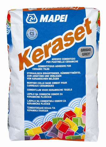 Mapei Keraset - 50 Lb Bag Grey - American Fast Floors
