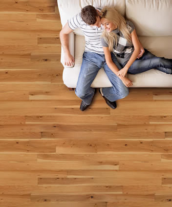 From the Forest Natural Hickory - American Fast Floors