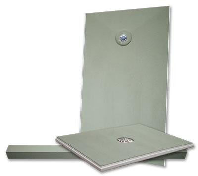 Laticrete Hydro Ban Pre-sloped Shower Pa  (36x48in Abs)