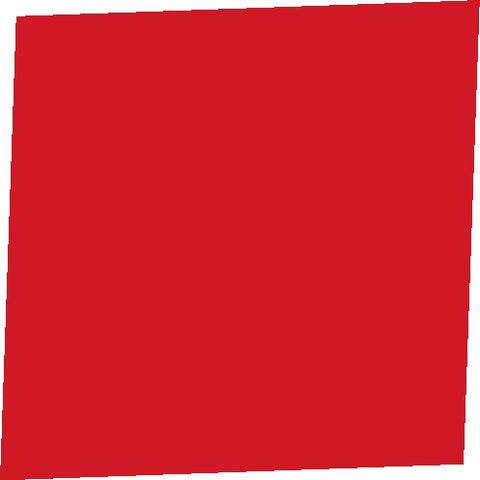 "Color Collection Bright 6""X6"" Red Pepper Right Cove Angle"
