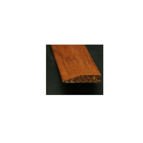 Solid Strand Woven Bamboo Tongue & Groove Carbonized Hand-Scraped Reducer - American Fast Floors