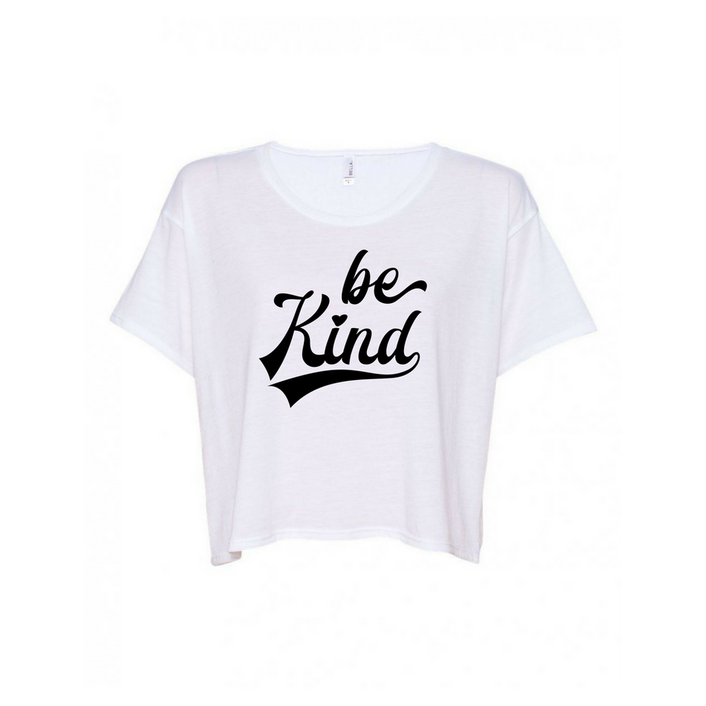 Be Kind Flowy Crop Top