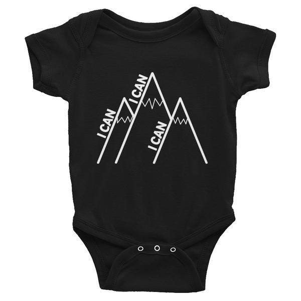 I Can Climb Mountains Onesie