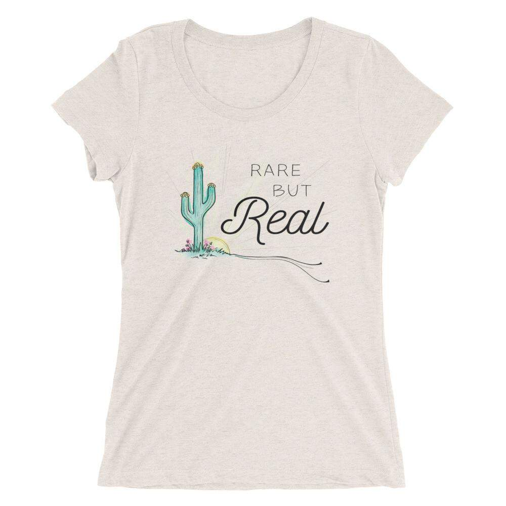Rare but Real Form Fitted TShirt