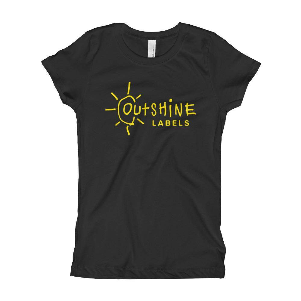 Outshine Labels (Goldenrod) Girl's Slim + Fitted
