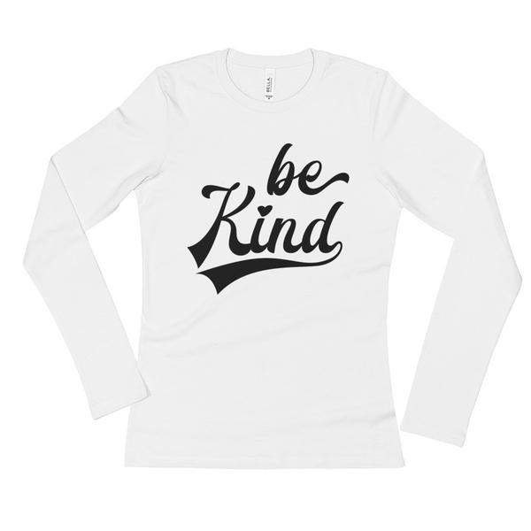 Be Kind Women's Long Sleeve T-Shirt