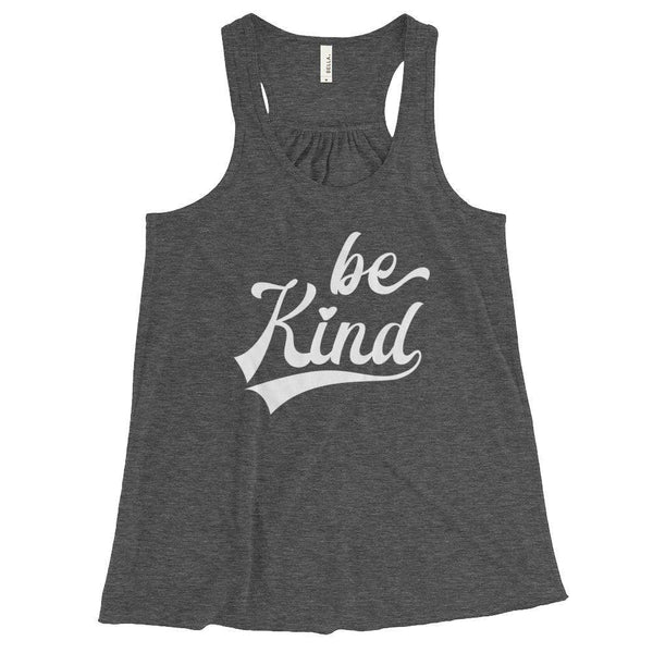 Be Kind Women's Flowy Racerback Tank