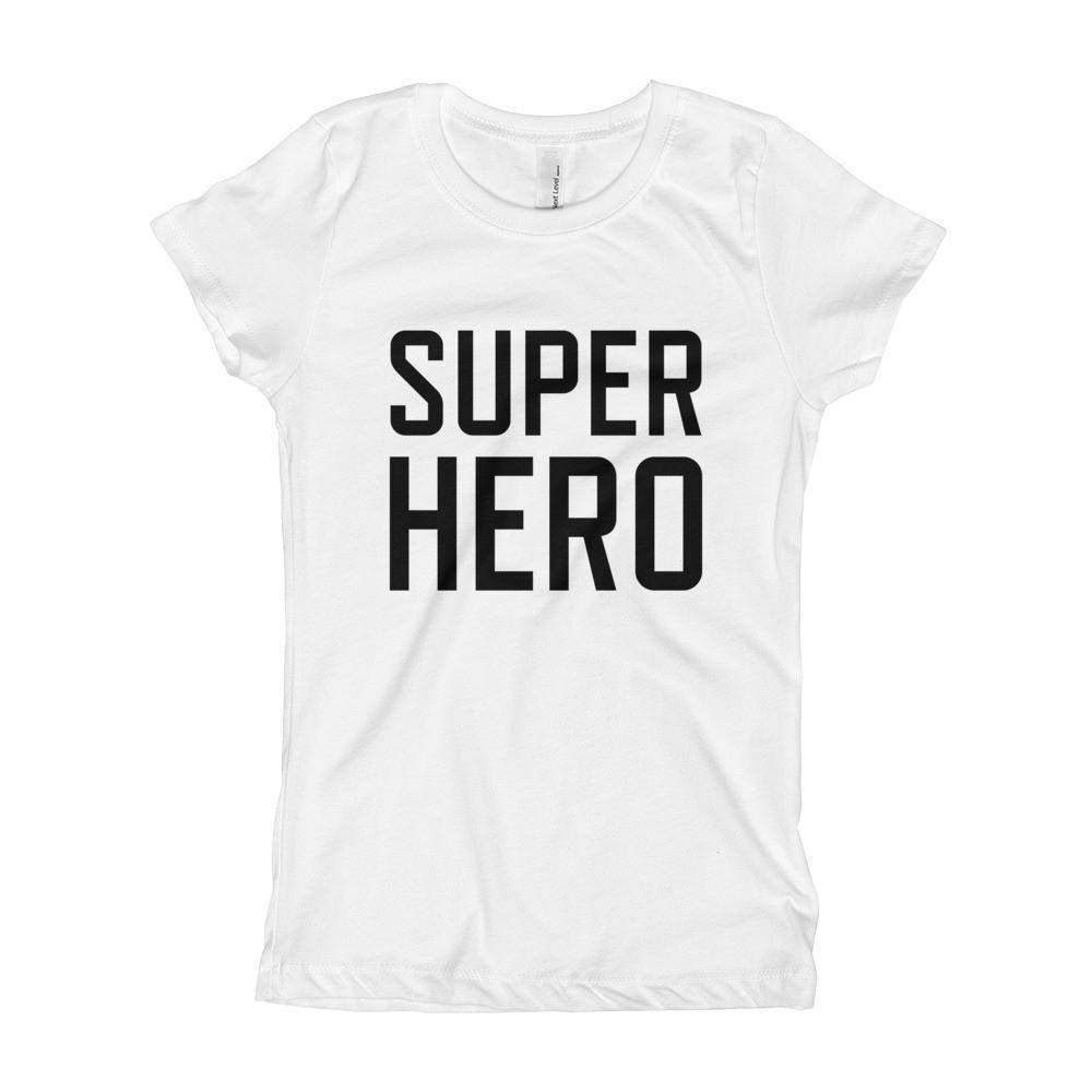 Super Hero Girl's Slim + Fitted