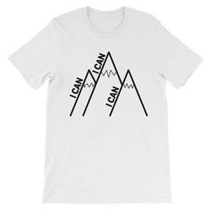 I Can Climb Mountains Youth Unisex T-Shirt