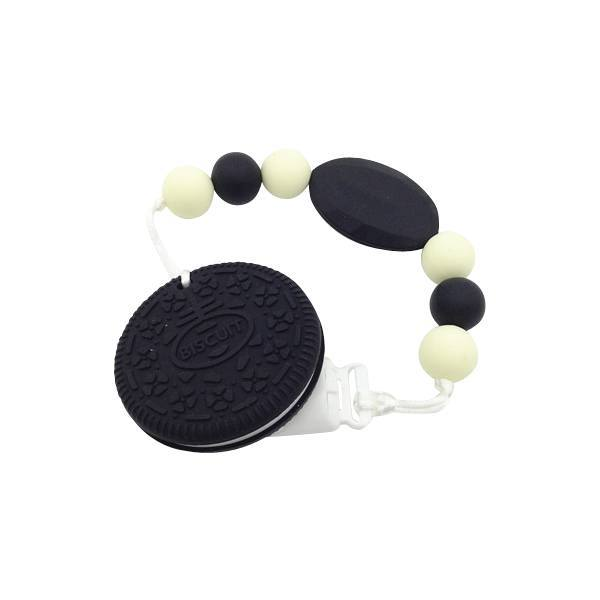 Oreo Biscuit Silicone Teether - Cashmere Bébé - 2