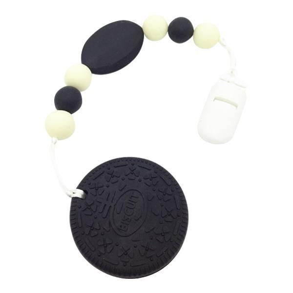Oreo Biscuit Silicone Teether - Cashmere Bébé - 3