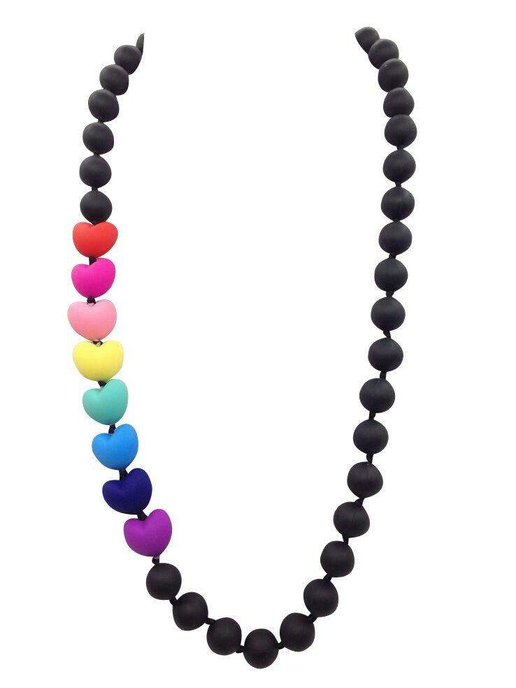 Forget Me Not Silicone Teething Necklace - Cashmere Bébé - 1